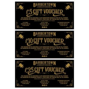 Barbertown Gift Vouchers