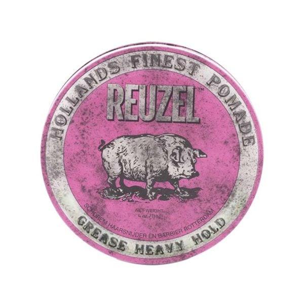 "Reuzel Pink ""Grease"" Heavy Hold Pomade (113g)"