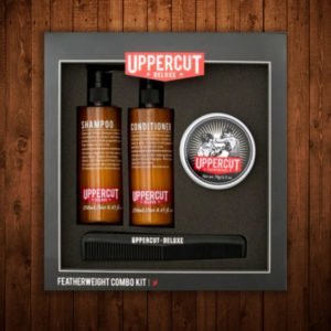 Uppercut Featherweight Pomade Combo Kit
