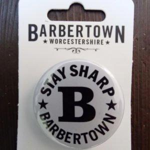 The Original Barbertown Badge (38mm)